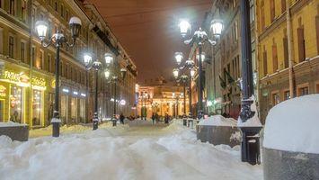Фото бесплатно Malaya Sadovaya Street, St Petersburg