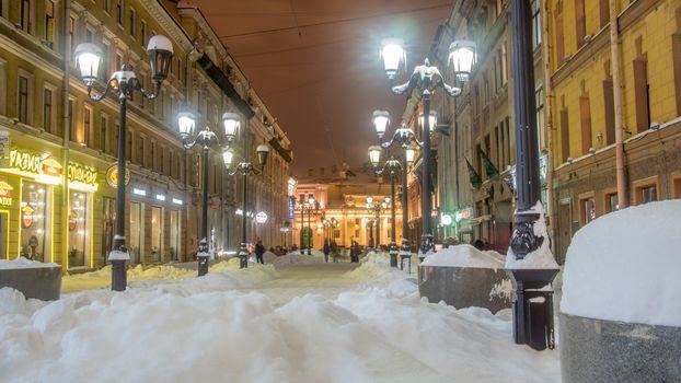 Бесплатные фото Malaya Sadovaya Street,St Petersburg