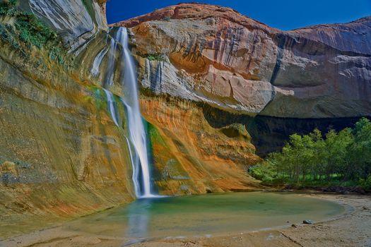 Фото бесплатно Река Тельца, каньон утес, ручей