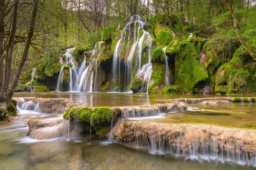Photo free forest, Cascades de Tufs, waterfall