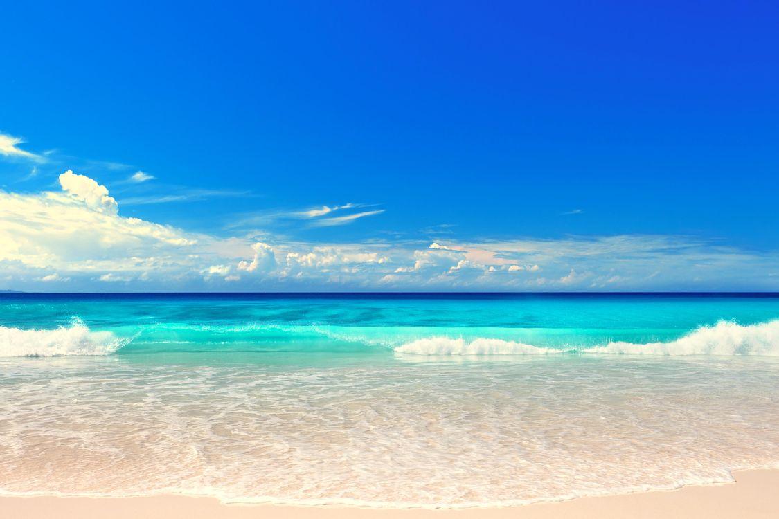Картинка море, пляж, пейзаж на рабочий стол. Скачать фото обои пейзажи