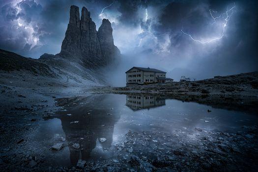 Photo free Torri del Vajolet, Italy, Dolomites