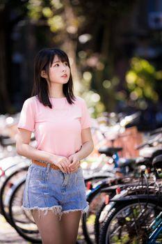 Photo free children, t-shirt, asian