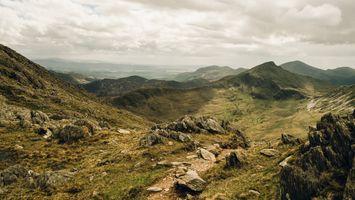 Фото бесплатно приключения, долина, горный хребет