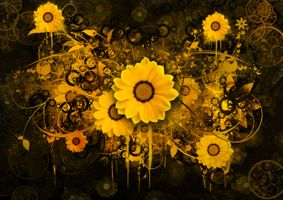 Заставки абстракция, цветной фон, разноцветный фон, текстура, фрактал, art