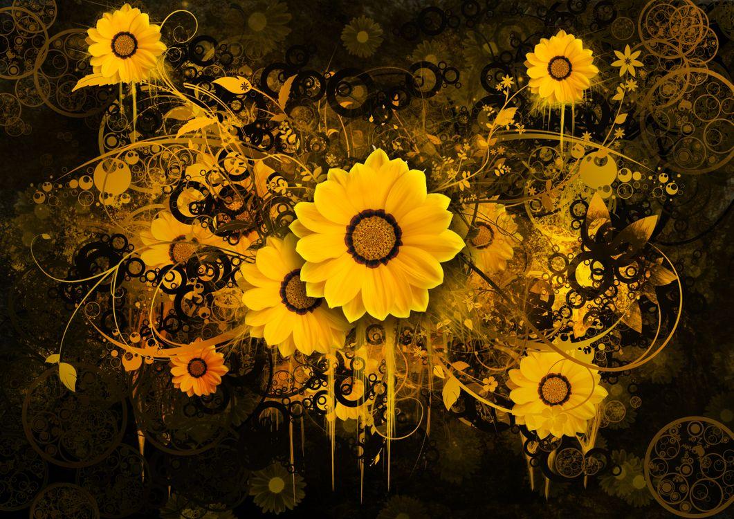 Цветочный клипарт · бесплатная заставка