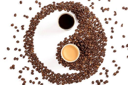 Photo free food, coffee, Yin-Yang