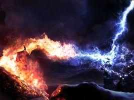 Бесплатные фото море,скалы,лава,art
