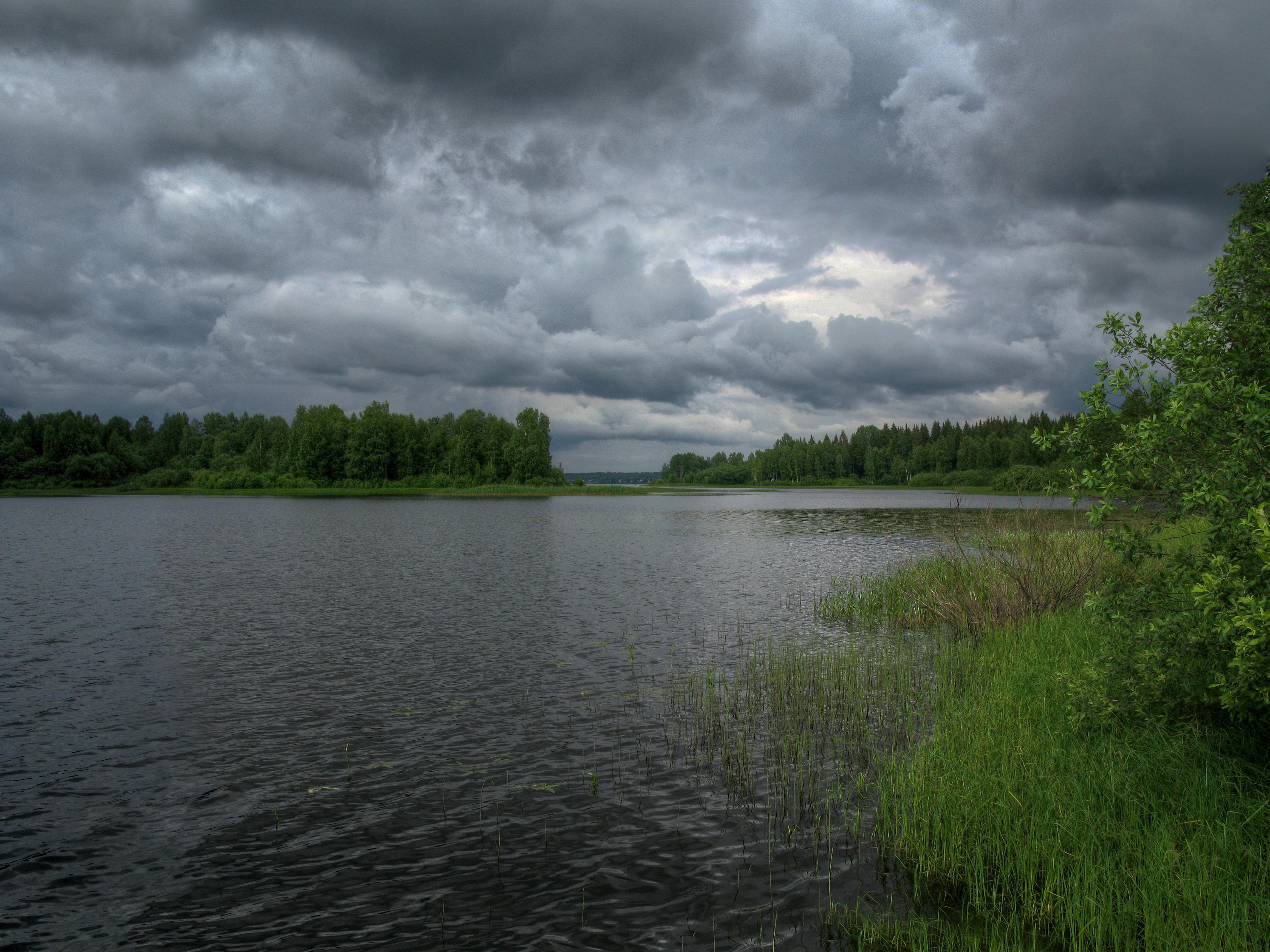 Обои Озеро Вселуг, Тверская область, Россия