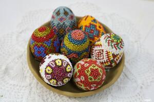 Фото бесплатно цветные яйца, крашеные яйца, праздник