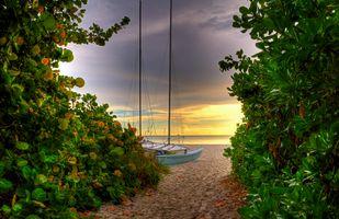 Фото бесплатно Неаполь, Флорида, пляж