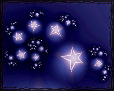 Stars in the frame · free photo