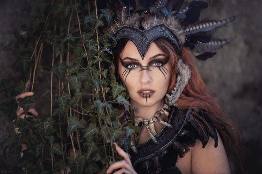 Фото бесплатно Эльфия, макияж, лицо