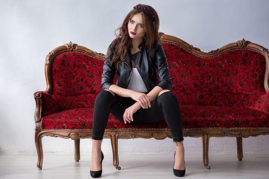 Фото бесплатно женщина, модель, красный