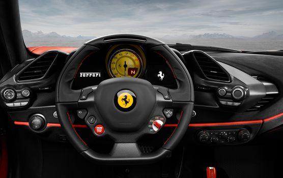 Photo free Ferrari 488 Pista, Ferrari 488, Ferrari