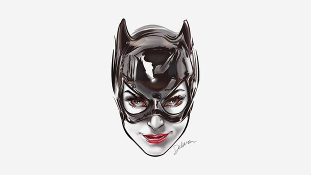 Бесплатные фото Catwoman,лицо,Batman