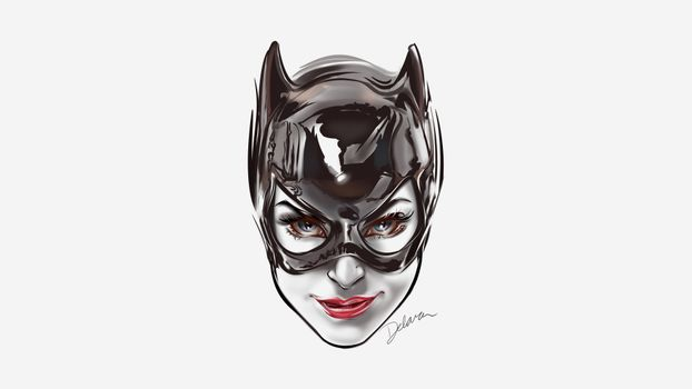 Photo free Catwoman, the face, Batman