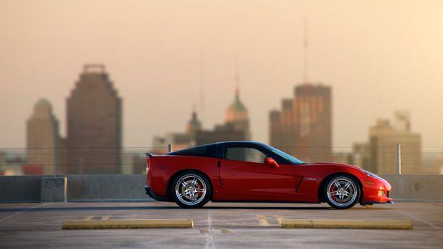 Photo free Chevrolet Corvette, supercar, the z06