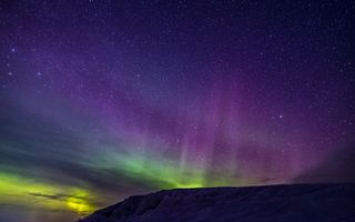 Photo free Northern lights, sky, stars