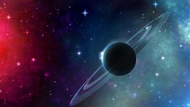 Фото бесплатно девиант арт, планета, произведение искусства