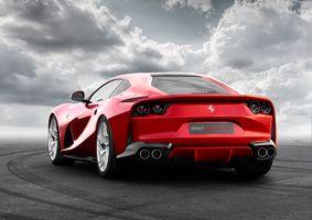Photo free Ferrari, red, sporty