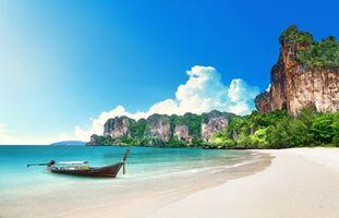 Photo free beach, sea, Thailand