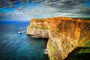 Заставки море, скалы, Ирландия