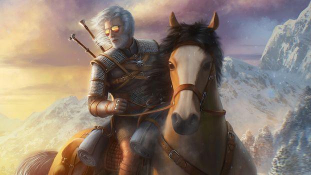Заставки The Witcher, игровая, художественное произведение