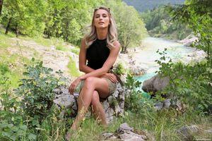 Фото бесплатно молодая женщина, Cara Mell, блондинка