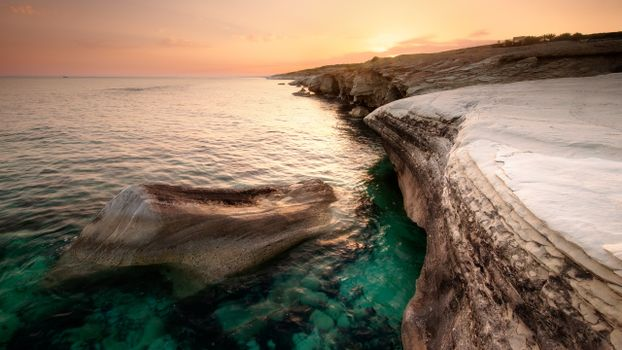 Фото бесплатно кипр, море, побережье