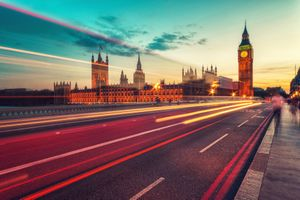 Photo free London, Great Britain, road