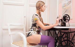 Заставки anjelica, abbie, портной, чулки, фиолетовые чулки, krystal boyd, tailor