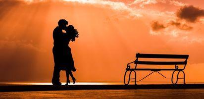 Заставки пара, поцелуй, любовь