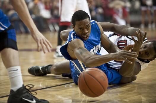 Фото бесплатно игра, баскетбол, конкуренция