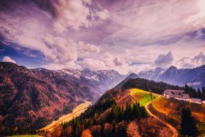 Фото бесплатно Словения, горная местность, горы