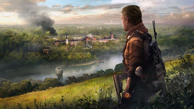 Фото бесплатно Tom Clancys The Division 2, Tom Clancys The Division, игры