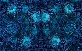Photo free Fractal, abstraction, fractal