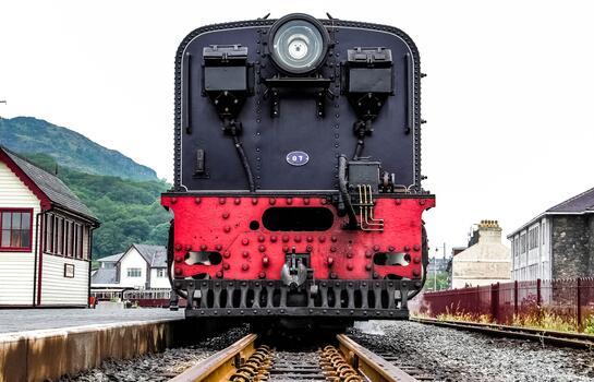 Photo free train, transport, locomotive