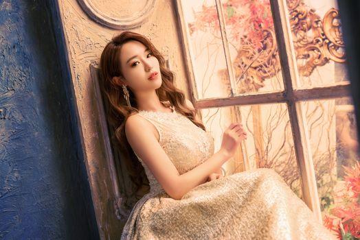 Фото бесплатно азиатские девушки, азиатское платье, платье