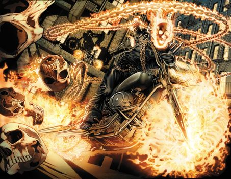 Photo free Ghost Rider, Ghost, art