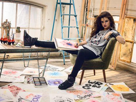 Photo free Adidas, music, Selena Gomez
