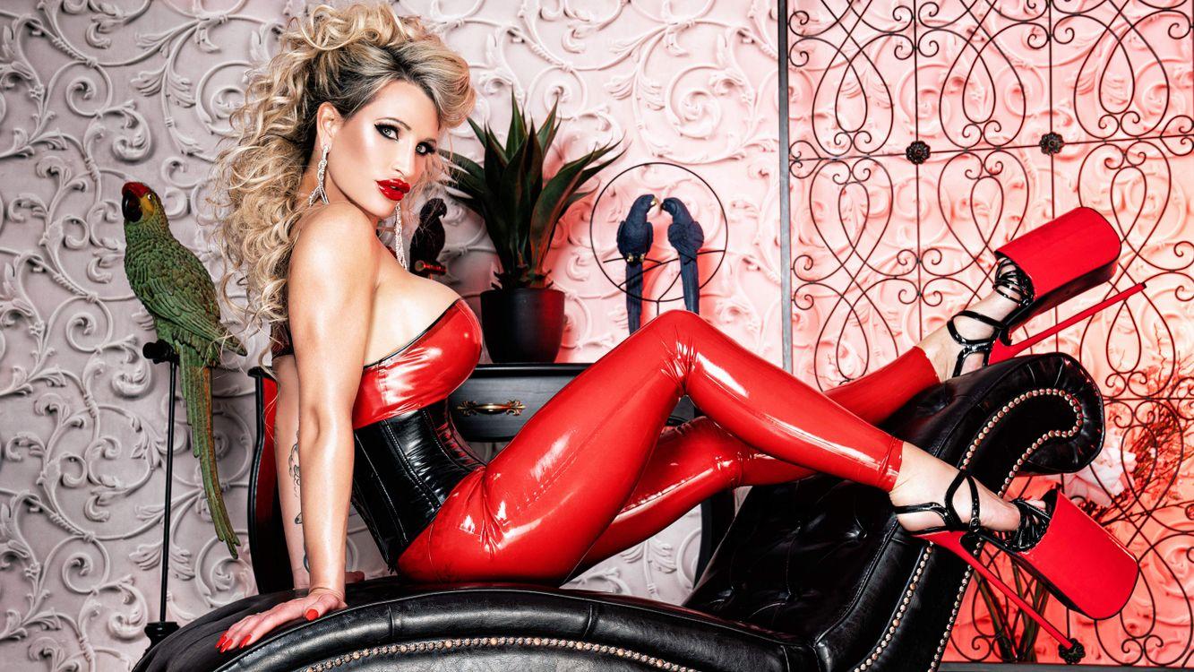Фото Calea Toxic блондинка грудастая - бесплатные картинки на Fonwall