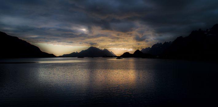 Photo free dusk, reflections, nature