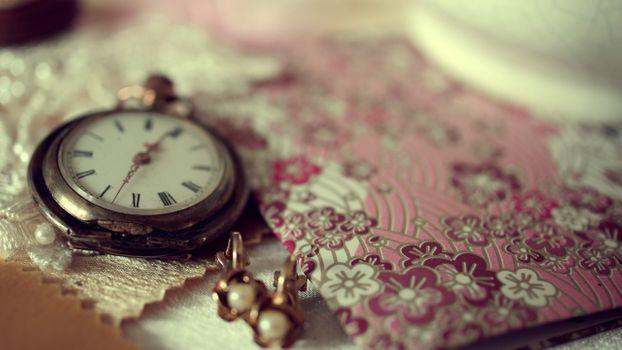 Фото бесплатно часы, глубина резкости, карманные часы