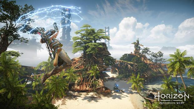 Photo free horizon forbidden west, games, 2021 games