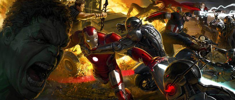 Заставки Avengers, художественное произведение, Digital Art