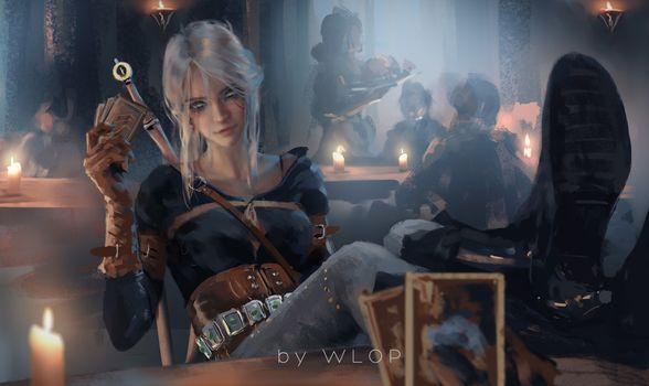 Фото бесплатно Цирилла, The Witcher 3, игры
