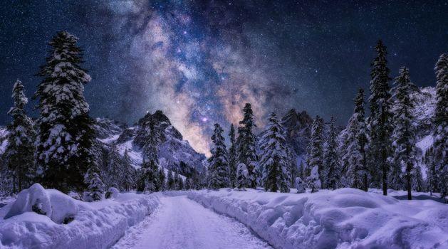 Фото бесплатно зима, пейзаж, Shine