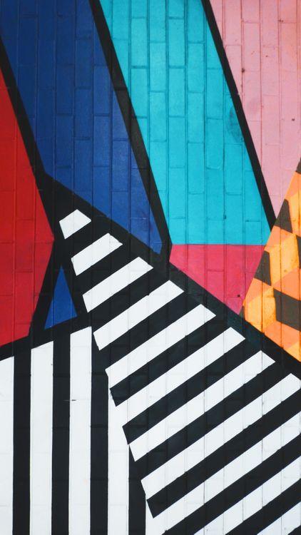 Фото бесплатно граффити, искусство, полосы, красочные, graffiti, art, stripes, colorful, текстуры
