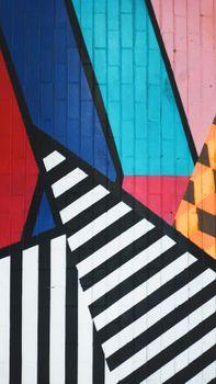 граффити, искусство, полосы, красочные, graffiti